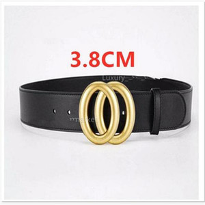 2021 Moda Cinturones negros Cinturones para mujer para mujer Cinturón de lujo Cinturones de cuero Mujeres Hebillas de oro