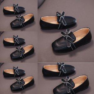 7sR7j 2020 весной и осенью новый корейский вариант кожи девушки DouDou детская DouDou PRINCESS детская горохового Shoes studentsshoes покрова