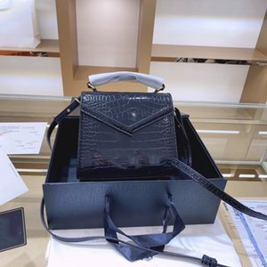 2020 design original single British style lady with double compartment inside large capacity envelope bag small square bag free shipping
