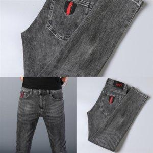 8Bomd pour Jeans Skinny Casual Fashion Jeans Homme Pantalon de luxe Bootcut boyfriend Hommes Hip Hop Man Pantalon Imprimer Imprimer Mens Jean