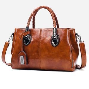 PU Leather Large Capacity Woman Handbag Shoulder Bag Fashion Casual Designer Crossbody Bag Ladies PurseBag Women's