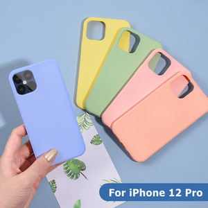 Liquid Silicone Custom Phone Case Cover Back Cover Shockproof Case For Apple iPhone 6 7 8 9 10 11 12 Pro Max Mini