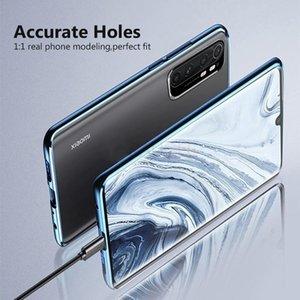 Magnetische Hülle für Xiaomi Mi Anmerkung 10 Lite Hülle Dual Side Tempered Gla Hard Cover für MI Note 10 Lite Funda H WMTTGF