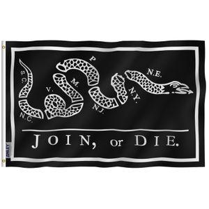 Anley mosca Breeze 3x5 Pie Negro Ingreso o bandera Die - Banderas de cascabel de poliéster con ojales de latón C1002