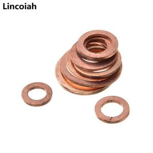 200pcs set Copper Sealing Solid Gasket Washer Sump Plug Oil For Boat Crush Flat Seal Ring Tool Hardware Acc jllNzD