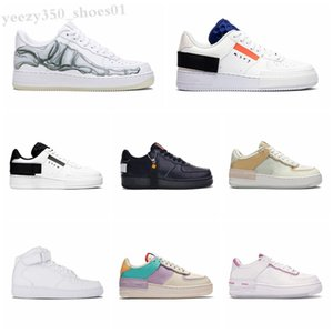 Force one 1 AF1 2020 Nuovo Designer WMNS Utility Forcd Candy Macaron Donne Donne Scarpe da donna 1 Shadow Sport Dunnk One Sacai Skateboard Sneakers WB06