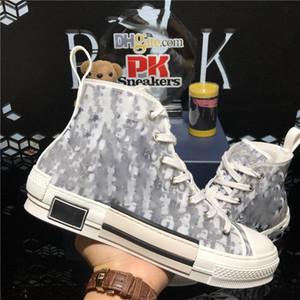 Высочайшее качество наклонные технологии Canvas Trainers кроссовки роскоши дизайнеры обувь мужчины женщин пары моды открытый платформа повседневная обувь