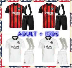 Erwachsene Kinder Kit 20 21 Einttracht Frankfurt Fussball Jersey Silva Costa 2020 2021 Frankfurt Home Dost Sow Kostic Hinteregger Kamada Herren Kids Kit