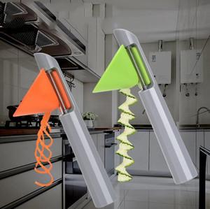 Термает многофункциональная мероприятия двулонги с точностью 3 в 1 овощной жарие Спираль резает резает кухонный инструмент DDD4169