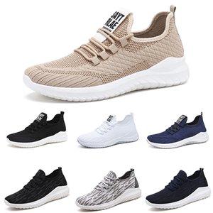 New Fashion Men Chaussures Mesh Shoes Outdoor Scarpe Lace-Up Mens Leggero Vulcanize Whhite Nero Scarpe da passeggio Zapatillas Hombre