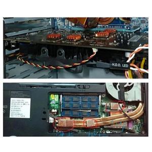 8pcs CPU-Grafikkarte Teile Computer Laptop reines Kupfer Speicher Mainboard Conductive Cooling Fan Mini DDR Kühlkörper
