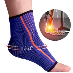 Knitted ankle protector supports gymnastic running foot protection belt elastic ankle support ankle support fitness support