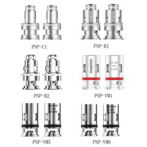 Voopoo Bobinas PNP 100% Original PNP-R2 R1 C1 PNP-VM1 VM5 VM6 Bobina de substituição para Vinci R Drag X Kit X