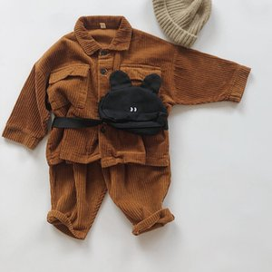 Autumn Winter Baby Boys Girls Corduroy Coat Korean Japan Style Children Clothing Baby Boy Girl Long Sleeve Jacket Kids Coat
