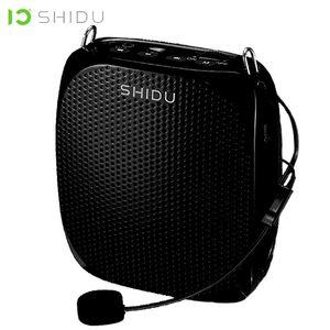 Shidu S258 10W estéreo portátil Amplificador Wired Microfone Mini Speaker Audio Voice Natural de som alto-falante para Professores Discurso 201109