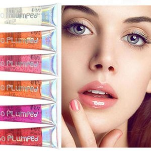 Long Lasting Sexy Transparent Tube Colorless Moisturizing Lip Oil Waterproof Transparent Lip Gloss 18ml