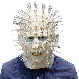 Lxson Partito festaioli mascherato maschera caporeparto mascherato film festaioli partito Hellraiser uomo cenobita piombo maschera cenobita film Hellraiser EhaGJ