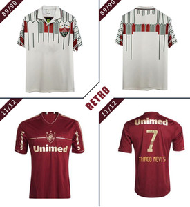 Fluminense retro 2011 2012 1989 1990 camiseta de fútbol Deco LANZINI Rafael Sobis Thiago Neves Fred vendimia clásica camisa de fútbol