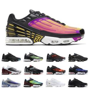 Moda TN Artı 3 Ayakkabı Mor Bulutsusu Kırmızı Örümcek Paraşüt BRED Mens Bayan Sneakers Spor Trainers des Chaussures 36-45
