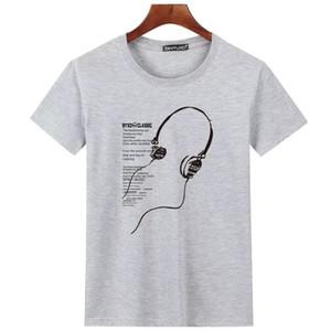 2019SS Vetements T-Shirts Men Women 1:1 High quality Sticker Vetements T shir Casual Cotton Black White Oversize T-shirt 200924