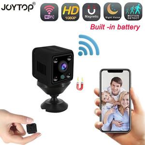 Cámaras Mini WFI Cámara IP con batería 1080p HD Visión nocturna HD Detección de movimiento de seguridad inalámbrico Monitor remoto Pequeño Cam1
