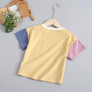 New children's clothing children's 2020 short-sleeved t-shirt boys beautiful and girls cartoon printed undershirt