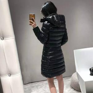 코트 최고 품질 겨울 코트 새로운 여성 겨울 캐주얼 야외 따뜻한 깃털 착실히 보내다 두꺼워 길게 파카 다운 재킷 여성 겨울 자켓