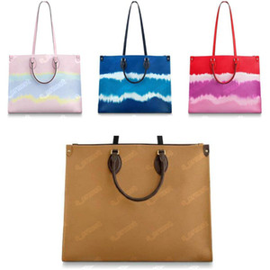 Totes da donna di alta qualità Tie Dye Canvas Borsa Borsa ADDIORI Duplex Stampa Duplex Diverse Stile Crossbody Borsa