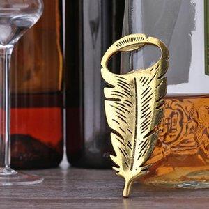 Apri bottiglia di birra in lega Decorazione di nozze favori stivali creativi piuma a forma di cucina domestica facile BbyIiv