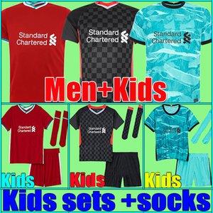 Thaïlande Chelsea 20 21 ABRAHAM WERNER HAVERTZ CHILWELL ZIYECH Soccer Jerseys 2020 2021 PULISIC Football Shirt KANTE MOUNT Hommes Enfants Ensembles Kits