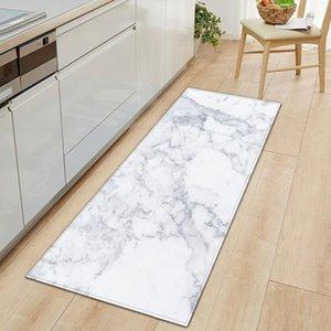 Marble Printed Floor Mat Kitchen Carpet Welcome Entrance Doormat Non-slip Indoor Hallway Rug Water Absorption Mat Bathroom Rug RUIYUN653
