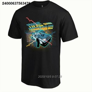 Time Machine Mens Lustige Back To The Future Inspired T-Shirt DeLorean DMC-Auto 5215510