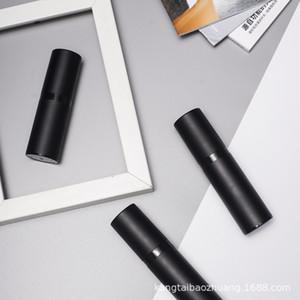 Pompa a spruzzo vuota Bottiglie Black Glassato come bottiglie di lozione Airless Plastica 15ml 30ml 50ml Sub-Bottle Cosmetico EWC2967
