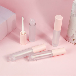 Circolare Glassato Lipgloss Tube Plastica Stampaggio a caldo vuoto vuoto Lip Gloss Lipstick Lipglaze Contenitore Eyelash Eyeliner Organizer 1 5JZ L2