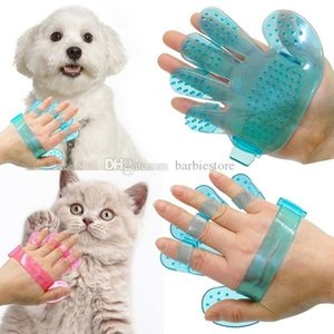 Pet hair glove Comb Pet Dog Cat Grooming Cleaning Glove Deshedding Left Right Hand Hair Removal Brush Promote Blood Circulation DHL Free