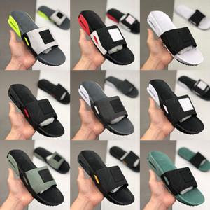 Camden 90 Slide дымковый Volt Черный Белый тапочки Прохладный серый Mens 90s флип-флоп спортивные тапочки Повседневная обувь Мужчины пляжные сандалии размер 40-45