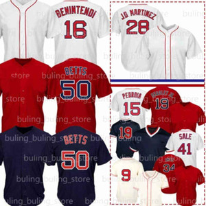 9 테드 윌리엄스 저지 16 Andrew Benintendi 34 David Ortiz Mookie Betts Jackie Bradley JR Dustin Pedroia Chris Sale J.D. Martinez 야구