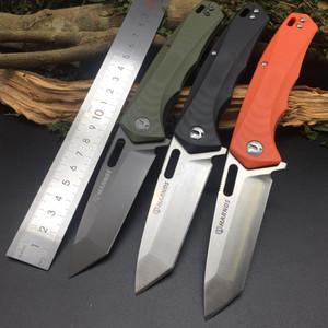 Harnds CK6119 Поллукс AUS-8 лезвия G10 Handle HRC58-59 Складной нож Кемпинг Охота Полезность Мульти нож спасения EDC портативный инструмент