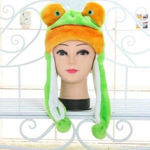 Cadeaux mignons dessin animé costume animal costume adulte chapeau chapeau doux peluche performance accessoires drôles enfants1