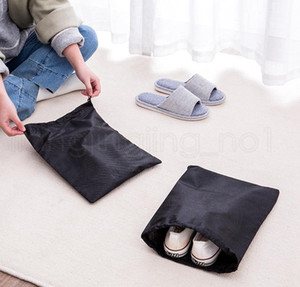 Storage Bag Non Woven Reusable Shoe Cover With Drawstring Case Breathable Dust Proof Sundries Packag jllORT yummy_shop