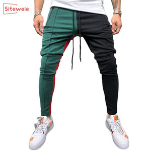Pantalones para hombres Mens Joggers Sweypants Hombre Gimnasio Entrenamiento Fitness Pantalones de algodón Masculino Casual Fashion Skinny Sport Track