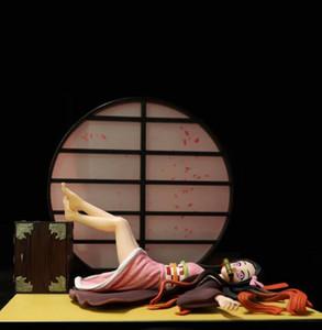 17 cm Demon Slayer Kimetsu Hiçbir Yaiba Kamado Nezuko Action Figure Uyuyan Kamado Nezuko PVC Model Oyuncaklar