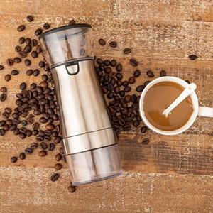 HMT Coffee Reading Electric Grinder USB Macchina per il caffè ricaricabile Mini e durevole Grinder in acciaio inox1