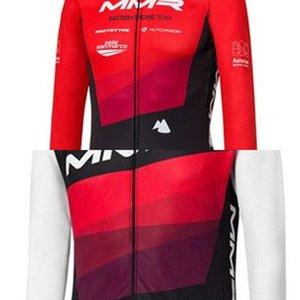 MMR Team Winter Cycle Thermal Fleece Herren Langarm Jacke Anzüge MTB Radfahren Kleidung Fahrrad BIB Strumpfhosen Ciclismo Sets C0128