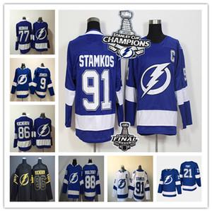 2020 Stanley Cup Champions Tampa Bay Lightning Джерси Hockey Стэмкос Кучера Hedman Тайлер Джонсон Василевский МакДоны Пойнт