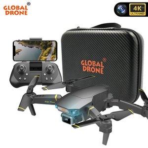 Global Drohne 4K Dron mit HD-Kamera-Drohne EXA Pro RC-Hubschrauber FPV-Quadrocopter-Hindernissensing Drohnen VS E58 E520 SG7001