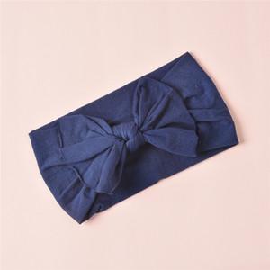 5European and American children's cute headband, baby hair accessories, super soft nylon bow headband headband wholesale5