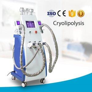 Big Promotion !! 3 poignées cryo machine gel de graisse machine cryolipolysis minceur du corps entier