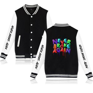 Wintet мужских куртки бомбардировщика 2020 YoungBoy не нарушали Снова Baseball Jacket Верхней одежды Harajuku Hip Hop Повседневной Уличной Одежды