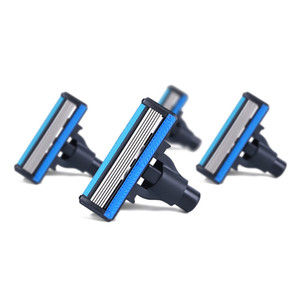 4 PCS Xiaomi Huanxing Men Razor Replace Shaver Heads High-quality German 6-edges Shaving Handle Not included PAA0278